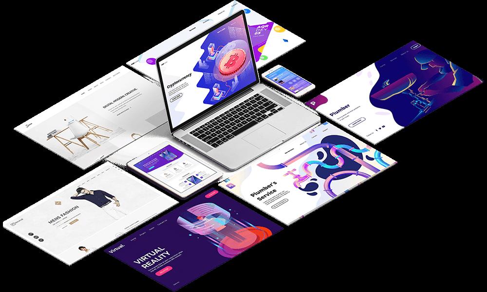 نمونه طراحی سایت پزشکی